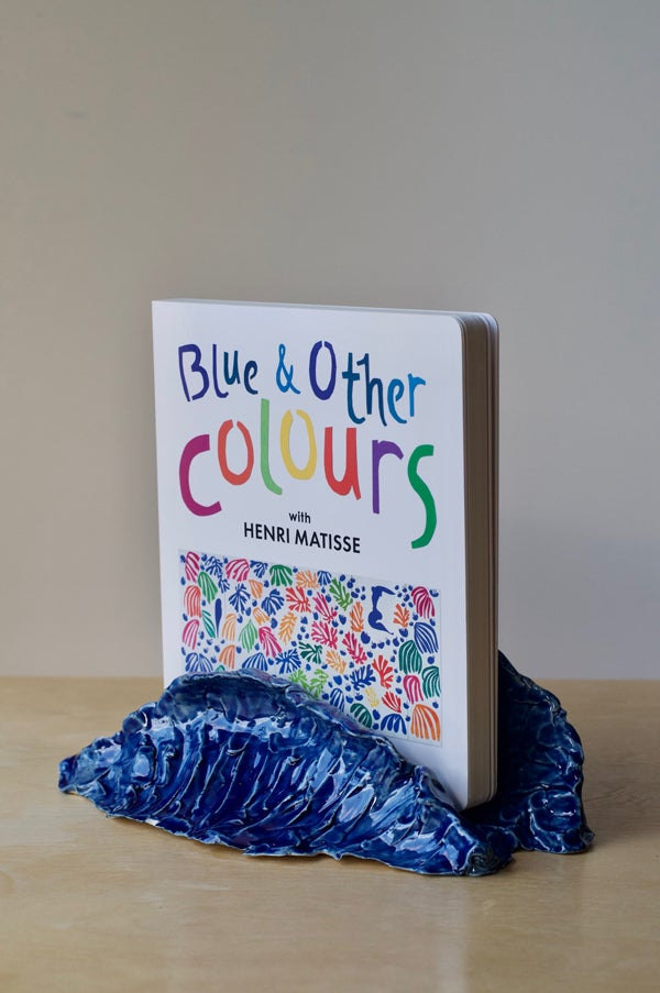 Image of Primary Book Holder - Blue