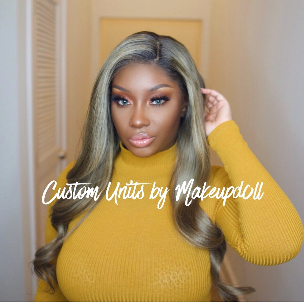 "Image of Cool-Toned Blonde Brazilian Body Wave 24"" Full Lace Wig!"