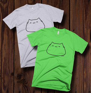Image of Happy Blob Cat T-shirt
