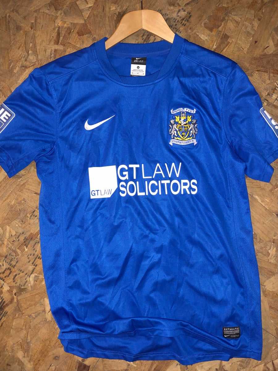 Image of Match Worn 2012/13 Alex Meaney Home Shirt