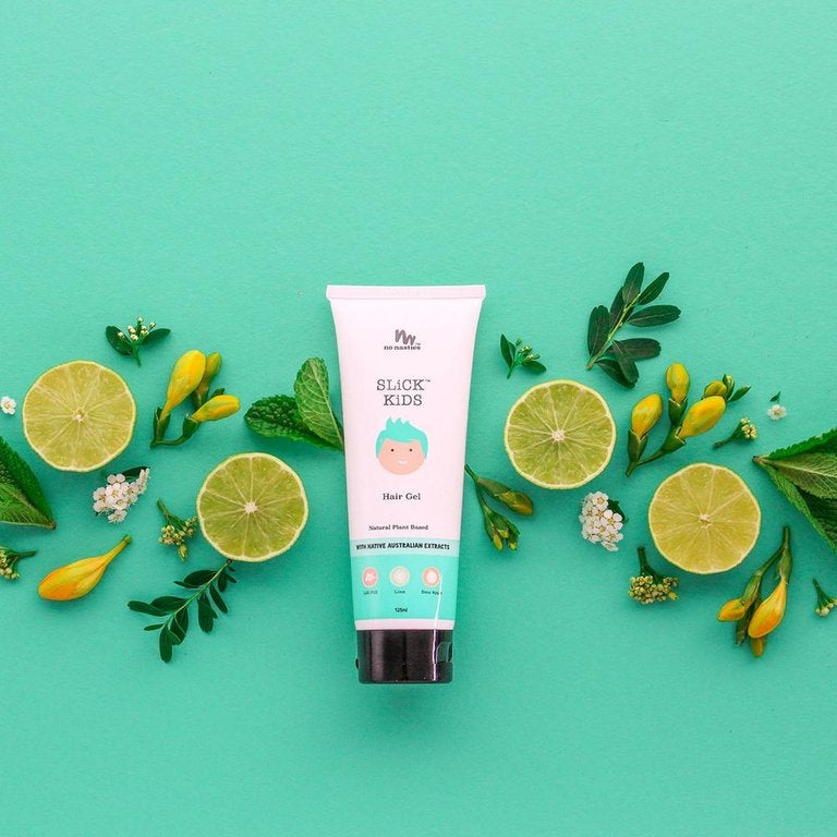 Image of Slick Kids Plant Based Hair Gel in Zest Lime and Fresh Mint | 125ml