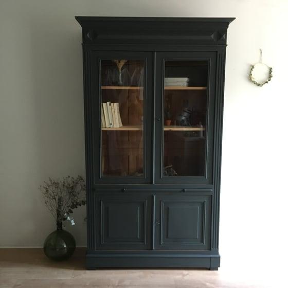 Image of Archibald, grand meuble vaisselier/bibliothèque