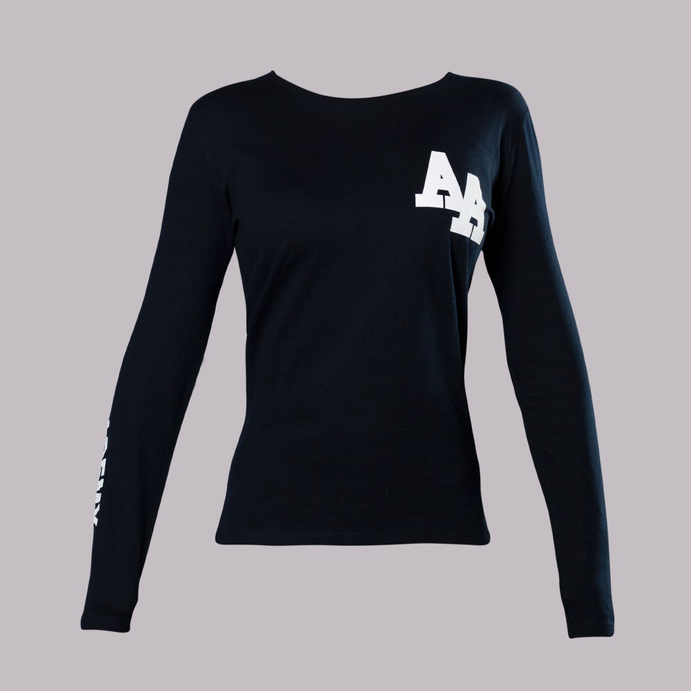 Image of NAVY LONG SLEEVE Lady T