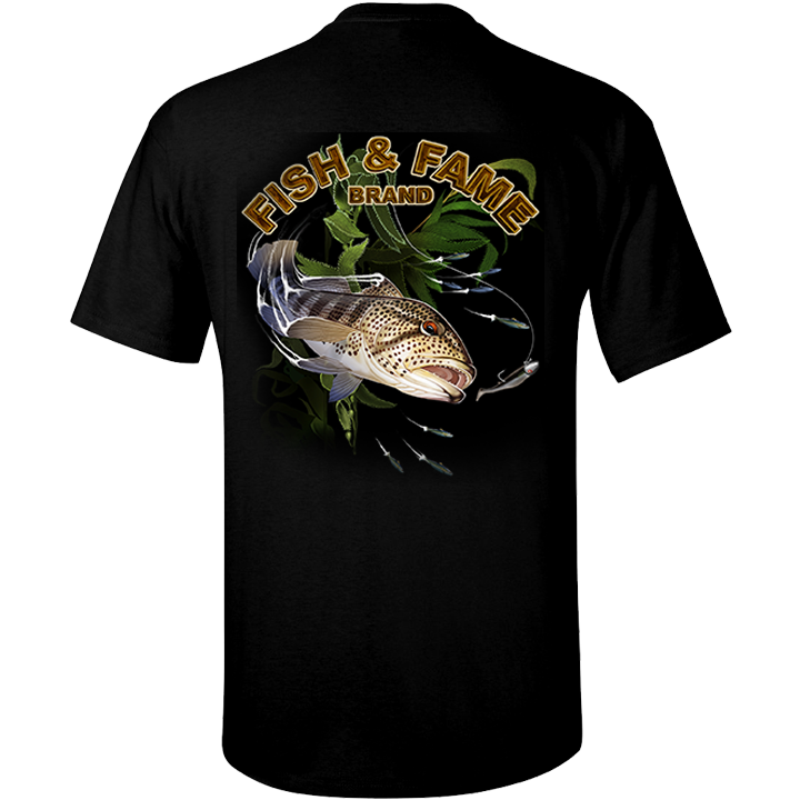Image of Spotted Bay Bass Tee (black)