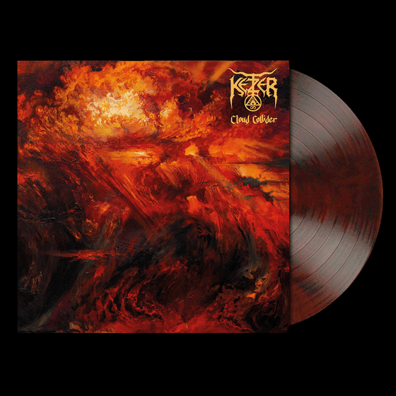 Image of CLOUD COLLIDER LP – RED-BROWN MARBLED