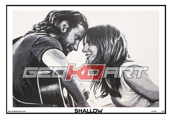 Image of A STAR IS BORN - BRADLEY COOPER & LADY GAGA