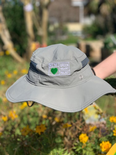 Image of Green Heart Bucket Hat
