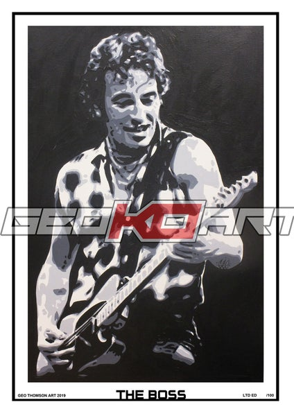 Image of BRUCE SPRINGSTEEN - THE BOSS