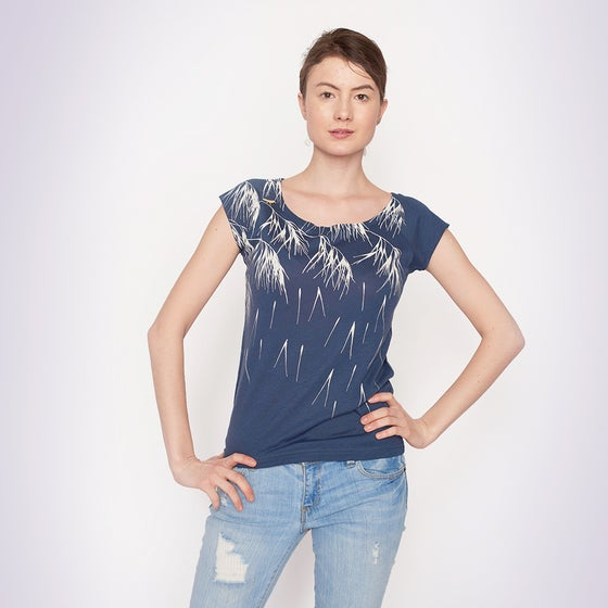 Image of Denim Whispers Bamboo T