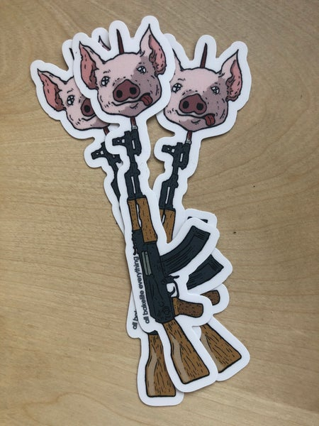 Image of Pig Sticker (3-pack)