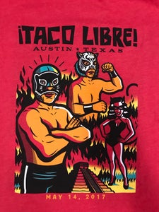 Image of Taco Libre - Austin  Red TShirt