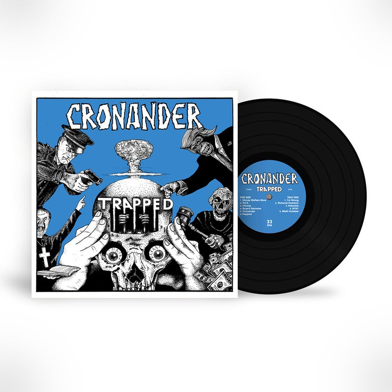 Image of Cronander: Trapped LP (PRE ORDER)