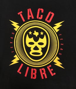 Image of Taco Libre - Yellow Lucha
