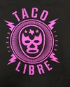Taco Libre - purple lucha - ADULT AND KIDS sizes (more sizes will be added)