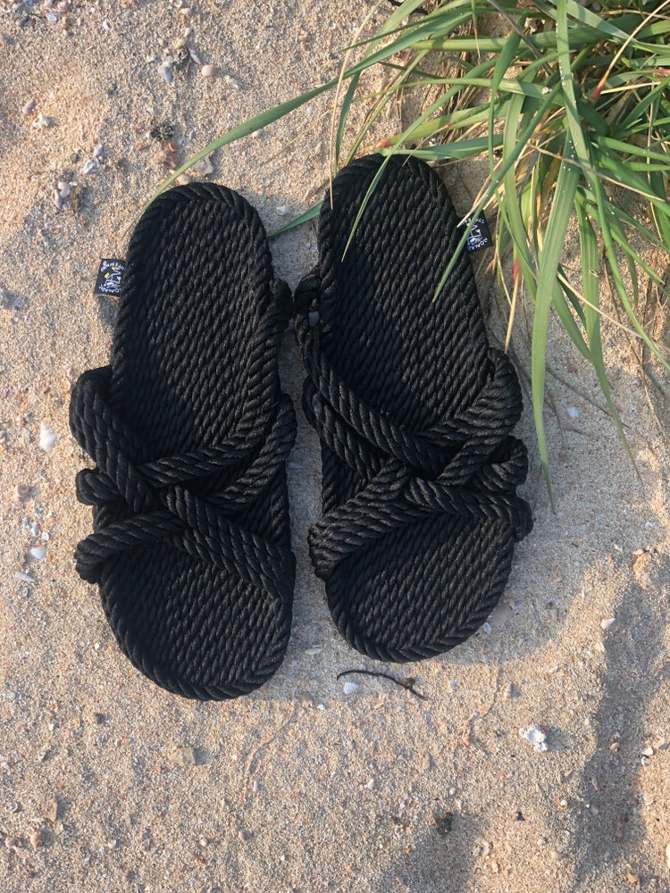 Image of Slip on black