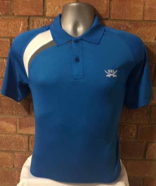 Image of Royal Blue Short Sleeve Polo Shirt (Free UK Postage)