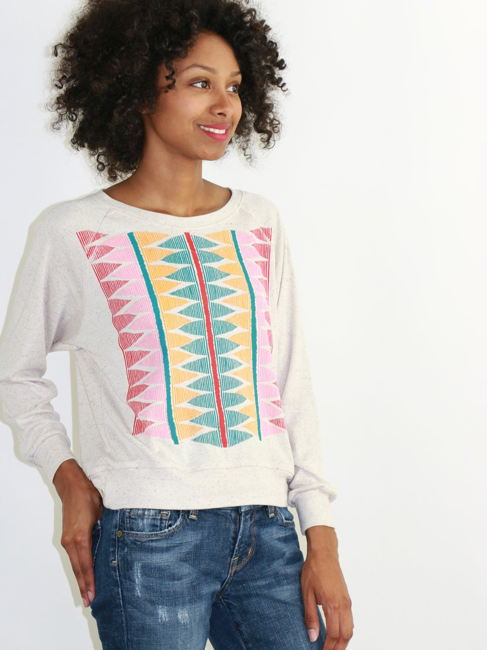 Image of Tapestry Pullover - Oatmeal