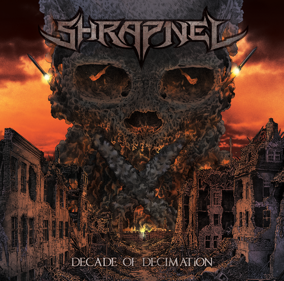 Image of Shrapnel - Decade of Decimation