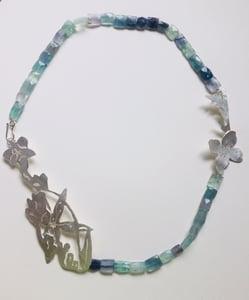Image of Fluorite Spring Wildflower Garden Necklace