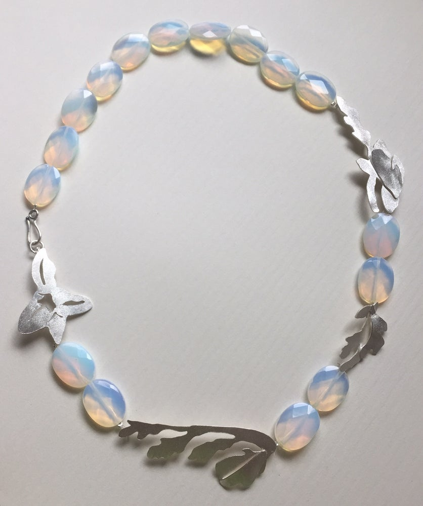 Image of Freesia Opaline Necklace