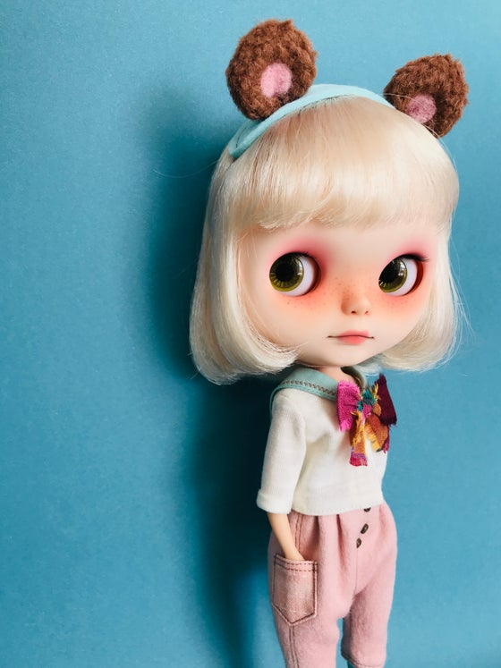 Image of Special Bear with School set for Neo Blythe