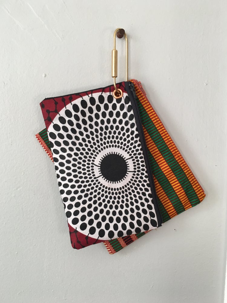 Image of •jumo• pouch set:  (various prints)