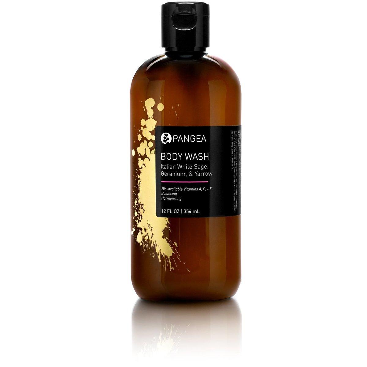 Image of Pangea Organics Body Wash - Italian White Sage, Geranium, & Yarrow
