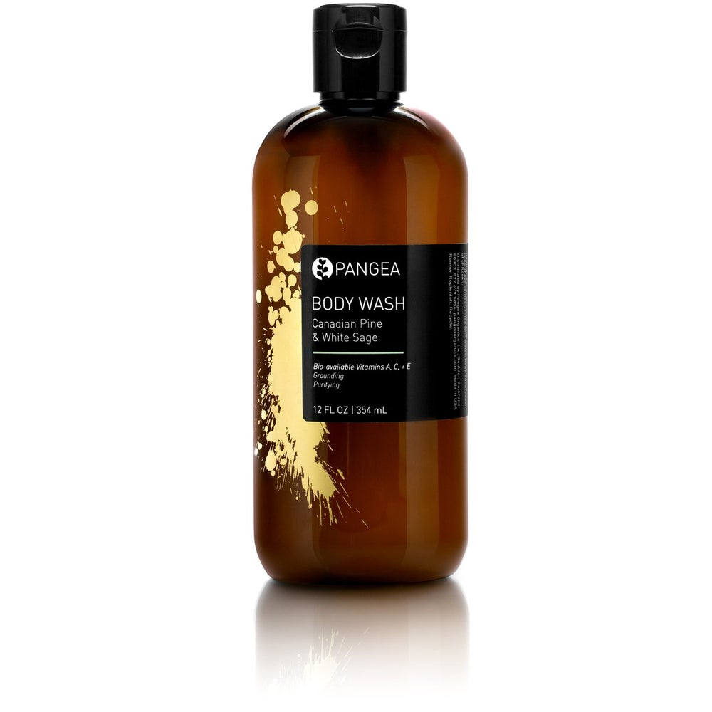 Image of Pangea Organics Body Wash - Canadian Pine & White Sage