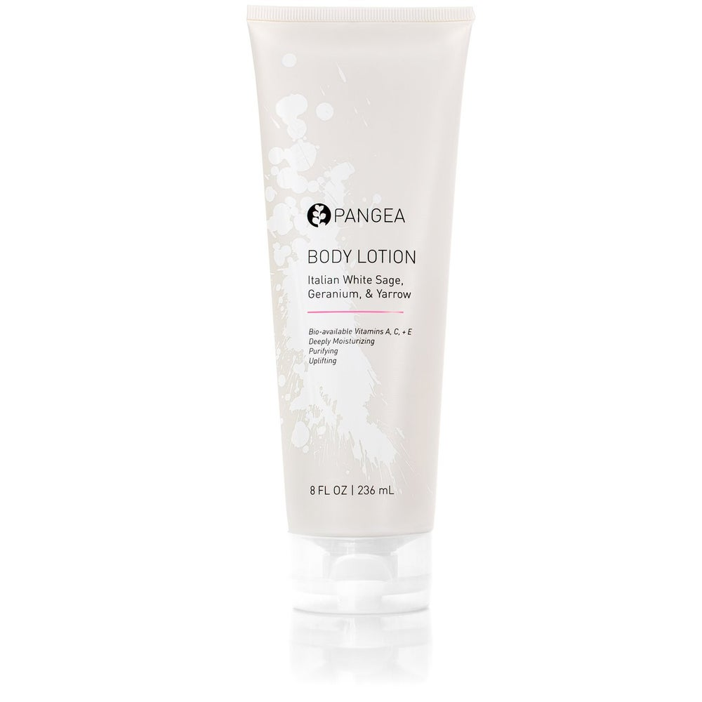 Image of Pangea Organics Body Lotion - Italian White Sage, Geranium, & Yarrow