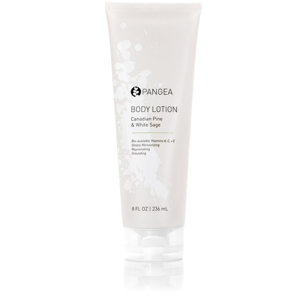 Image of Pangea Organics Body Lotion - Canadian Pine & White Sage