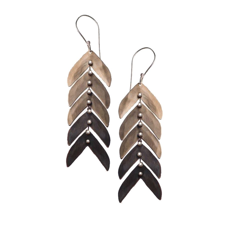 Image of Faded Spines Earrings