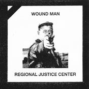 "Image of WOUND MAN / REGIONAL JUSTICE CENTER 7"" Pre-Order"