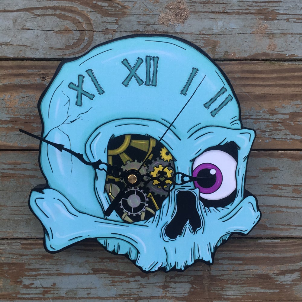 Image of Skull Clock