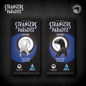 Image of Strangers in Paradise: Limited Edition Francine & Katchoo enamel pin set! FREE U.S. SHIPPING!