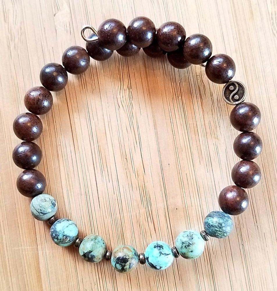 Image of Turquoise Balance Bracelet