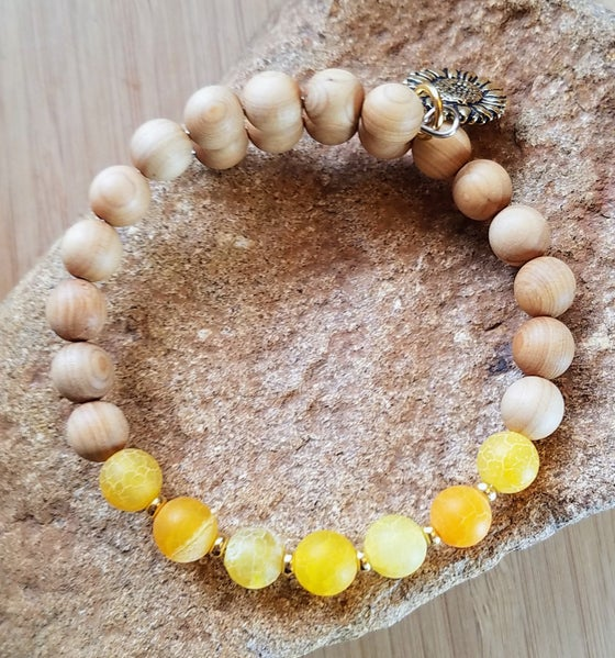 Image of Sunflower Sunshine Bracelet
