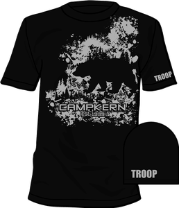 Image of CAMP KERN T-SHIRT 2019 - FULL FRONT CHEST & WITH TROOP SLEEVE IMPRINT - ONLINE