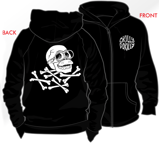 Image of Okilly Dokilly - Goopy Zip Hoodie