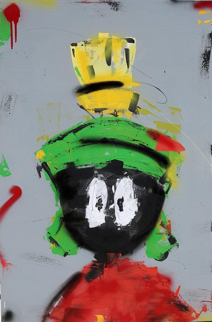 "Image of ""Marvin Martian"" Original"