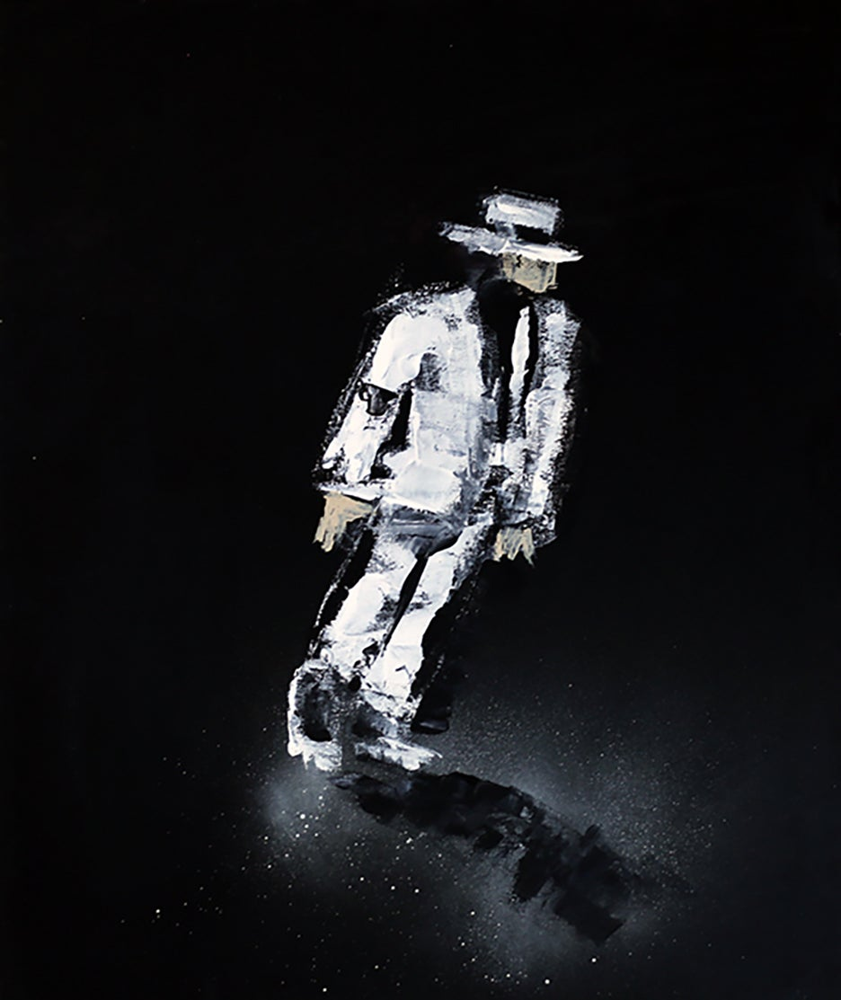 "Image of ""Michael #1"" Original"