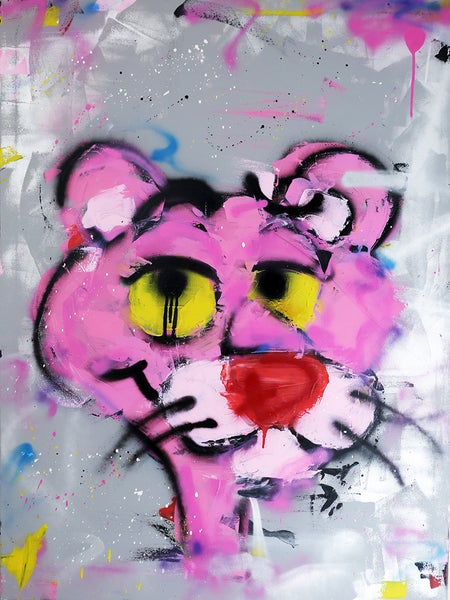 "Image of ""Pink Panther"" Original"