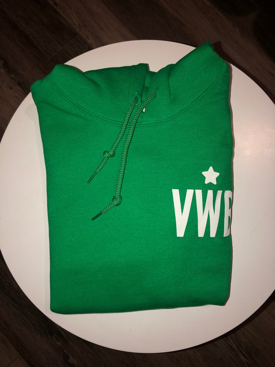 Image of VWB Irish Green Hoodie