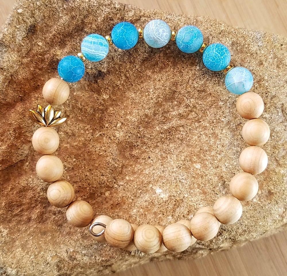 Image of Blue Lotus Bracelet