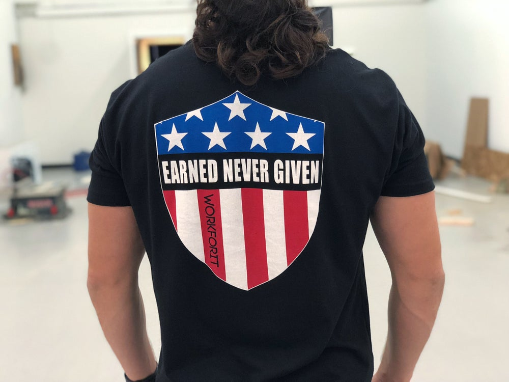 Image of EARNED NEVER GIVEN