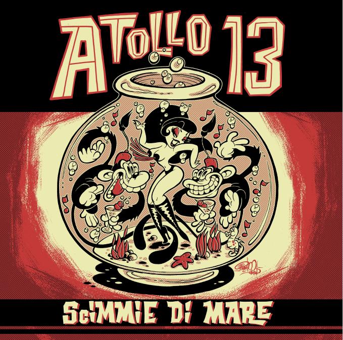 """Image of (vinyl) Atollo 13 """"Scimmie di Mare"""""""