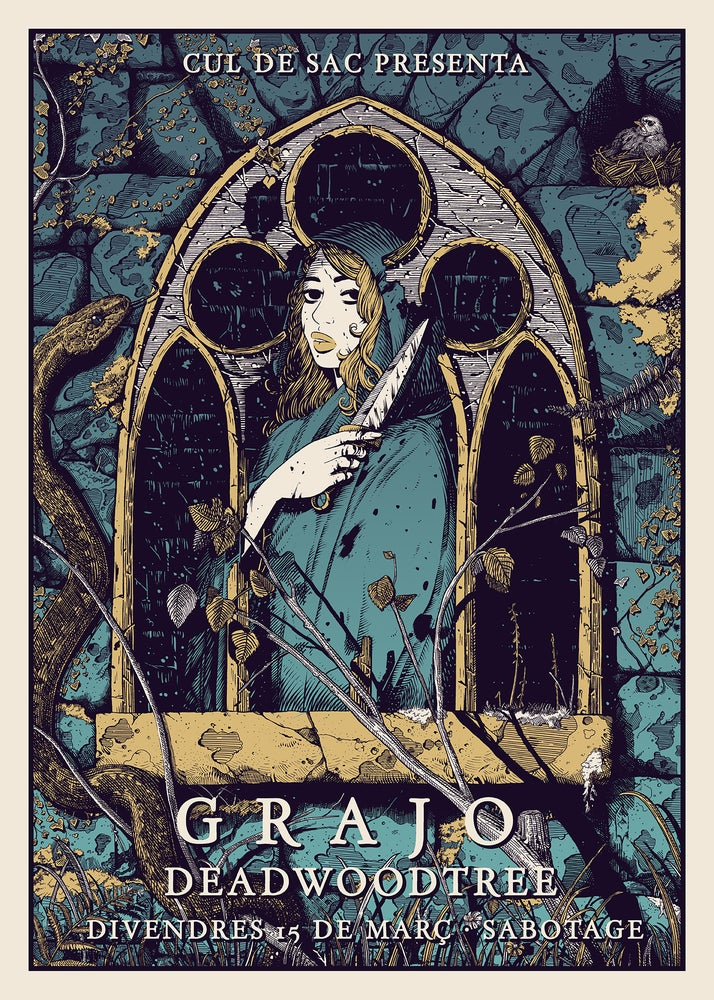 Image of GRAJO 'Feeding our demons'
