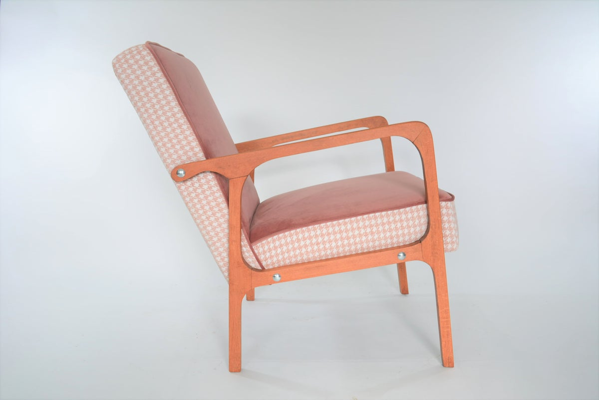 Image of Fauteuil KARD rose