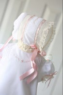 Image 4 of Brierley Diaper Set & Bonnet