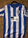 Match Worn Carl Piergianni 2011/12 Home Shirt