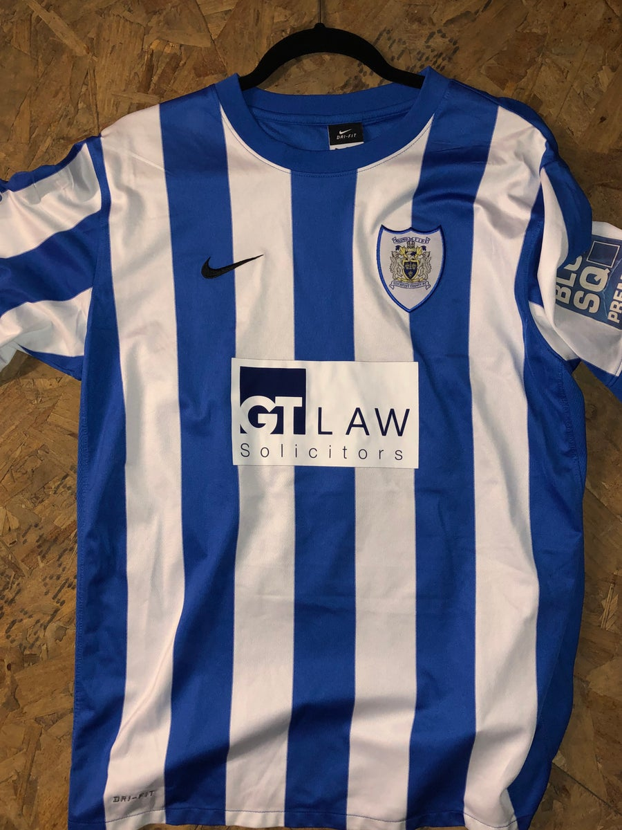 Image of Match Worn Carl Piergianni 2011/12 Home Shirt
